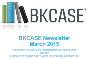 BKCASE Newsletter March 2015